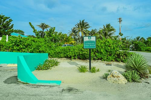Cayman Kai Beach Entrance