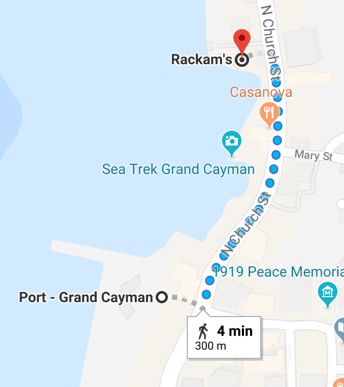 Rackhams Map