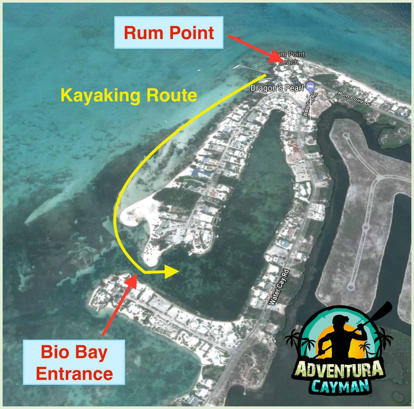 Kayaking Route Map