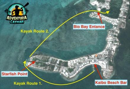 Kayaking Route 2 Map
