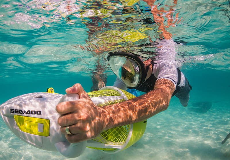 Sea Scooter Rental - underwater scooter rentals Grand Cayman